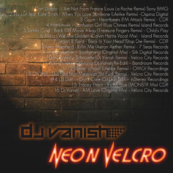 Neon Velcro Art